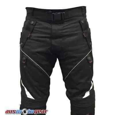 Motorcycle Textile Pants Cordura Dri Rider Style Pant 100% Waterproof CE ARMOUR