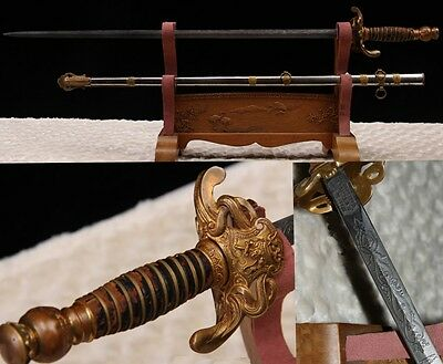 Unique Early United States Masonic Knights Templar Cavalry Sword Copper Fitting