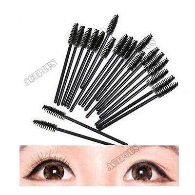 10PCS  Rotate Eyebrow Brush Cosmetic Brow Brush Oblique Design Makeup Tools ACTP
