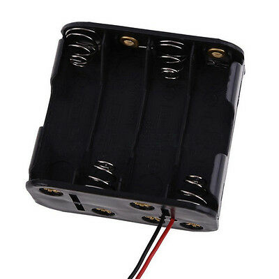 12V Battery Clip Slot Storage Holder Box Case for 8 Section 2A Battery ACTPLUS