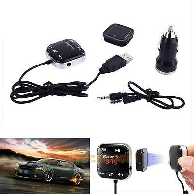 Wireless Bluetooth FM Transmitter MP3 Player Handsfree Car Kit USB SD LCD Remote