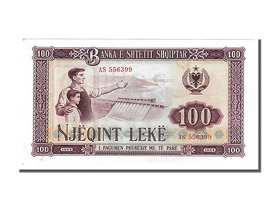 Albania, 100 Lekë, 1964, KM #39a, UNC(63), AS 556399