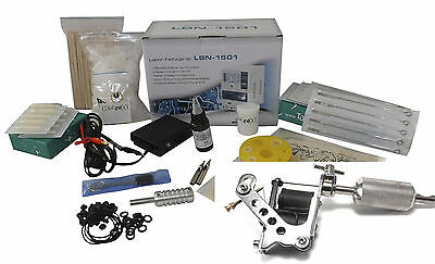 INKgrafiX®TATTOO SET 10Wrap Maschine IG-27 Tattoomaschine KOMPLETTSET InkgrafiX®