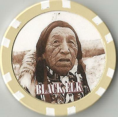 Black Elk  Collector  Chip Medicine Man & Holy Man