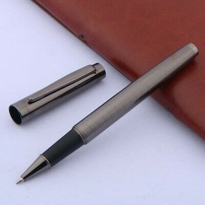 Jinhao Gun black Lacquered Twist Medium Roller ball Pen