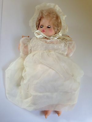 Vintage Goldberger Eegee Baby Doll Talking Does Not Work 19""