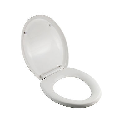 Luxury Oval Soft Close Heavy Duty Toilet Seat With Top Fixing