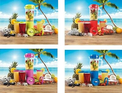 NEW Party Mix Blender Juicer 12 Piece Set Fruit Smoothie Food Processor Mixer