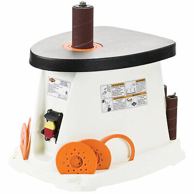 Shop Fox W1831 120-Volt 1/2 HP Single-Phase Oscillating Spindle Sander