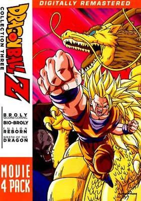Dragonball Z: Movie 4 Pack - Collection Three New Dvd