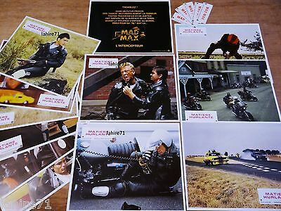 MAD MAX matiere hurlante  ! TRES rare  jeu photos cinema lobby cards
