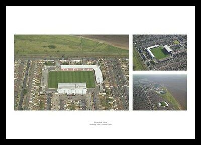 Grimsby Town Blundell Park Stadium Aerial View Photo Memorabilia (GRMU1)