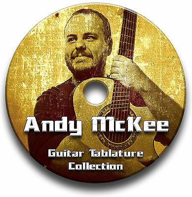 Andy Mckee Fingerstyle Guitar Tabs Tablature Song Book Software Cd