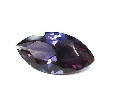 (4x2mm - 24x12mm) Marquise Faceted AAA Lab Created Alexandrite Corundum