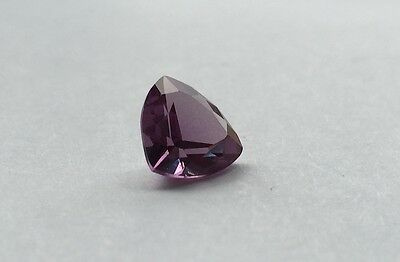(3x3mm - 16x16mm) Trillion Faceted AAA Lab Created Alexandrite Corundum