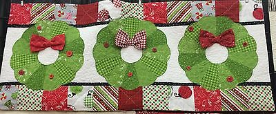Deck the Halls ~ KimberBell Bench Pillow of the Month Christmas Quilt Pattern