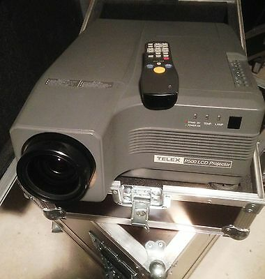 PHILIPS VIDEO PROJECTEUR TELEX P500 LCD + fly