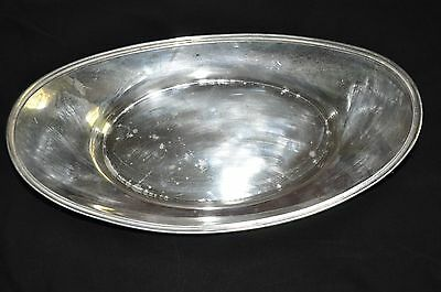 Fisher Sterling Silver Solid Bread, Dessert, or Fruit Tray Platter 210g