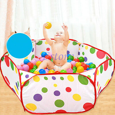 Foldable Kids Ocean Ball Pit Pool Game Children Play Toy Tent Baby Safe Playpen