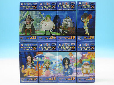 One Piece World Collectible Figure vol.7 Complete set of 8 Banpr... FROM JAPAN