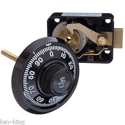 Sargent & Greenleaf 3 Wheel Combination Lock -Safe, Vault, Combo-Free Post