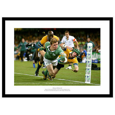 Brian O'Driscoll Ireland Rugby Legend Photo Memorabilia (666)