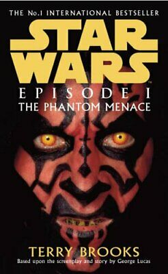 Star Wars: Episode 1 - The Phantom Menace, Brooks, Terry Paperback Book The