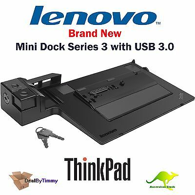 Lenovo 433715A ThinkPad Mini Dock Series 3 USB 3 Docking Station with 90W Power