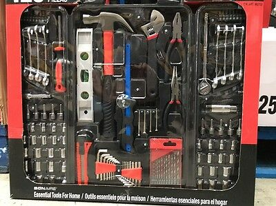 Bonaire 125 Piece Tool Set DIY Home Garage Workshop Tools With Case Brand new