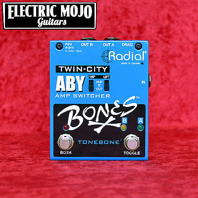 ToneBone Twin-City ABY Guitar Amplifier Switcher Radial