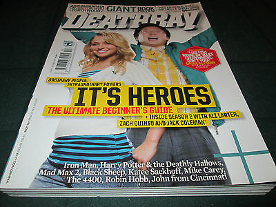 Deathray Magazine October 2007 Issue No.5 Heroes Torchwood 2 Mad Max 2