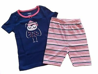 NEW Girls Gymboree BUTTERFLY FLOWER 5 PJs Pajamas Gymmies Lot Floral Shorties