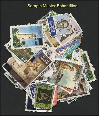 SRI LANKA, 100 DIFFERENT STAMPS - like received!