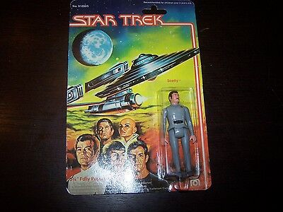 NEW Star Trek The Motion Action Figure Scotty 1979 Mego Vintage Toy 3.75 inches