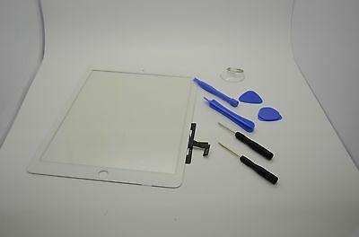 New white Touch Screen Glass Digitizer Lens Replacement For iPad Air 1