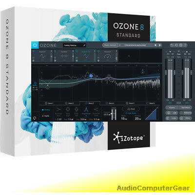 iZotope OZONE 8 Edu Mixing Mastering System Audio Software Plug-in NEW