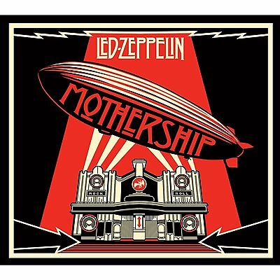 LED ZEPPELIN 'MOTHERSHIP : THE VERY BEST OF' (Remastered) 2 CD SET (2015)