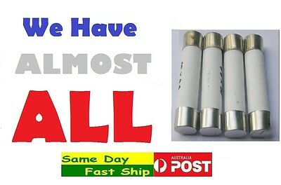 Ceramic Fuse size: 5x20,5x25,6x25,6x30,10x38,14x51,22x58 mm All Current range AU