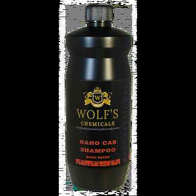 WOLF'S CHEMICALS NANO SHAMPOO (NANO BATHE) 1000ml brilliant shine every wash
