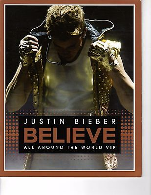 Justin Bieber - Believe All Around the World VIP Souvenir Photo Book  (M2-1)
