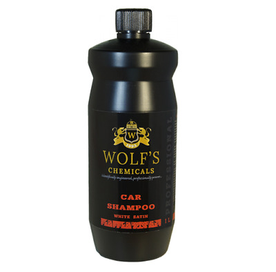 "Wolf Chemicals WS-1N pH Neutral Car Shampoo - ""White Satin"" protection 1000ml"