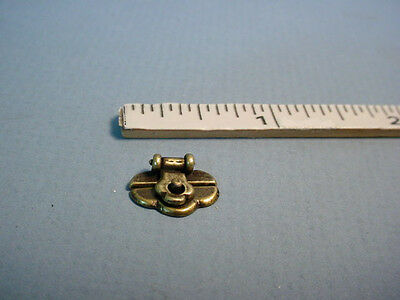 Dollhouse Miniature Trunk Lock  Town Square Miniatures #S3013 - 1/12th Scale