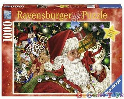 Santa Claus Limited Edition Christmas 1000 Piece Jigsaw Puzzle by Ravensburger