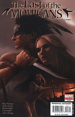 Marvel Illustrated: Last of the Mohicans #3 (Sep 2007, Marvel)
