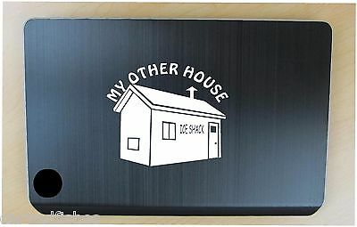 Ice fishing shelter decal