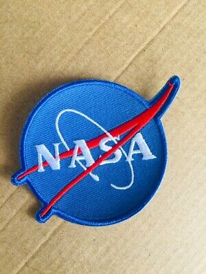 NASA ☆ SPACE ASTRONAUT SCI-FI 4INCH Iron On Patch / Badge Budget Costume COSPLAY