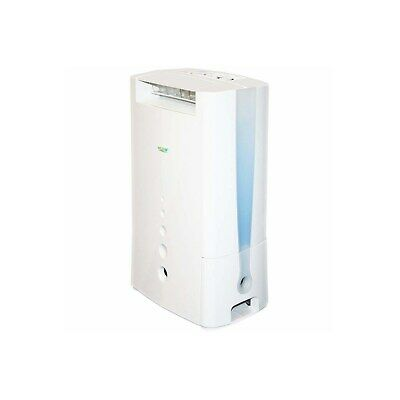 ECOAIR DD128 8L Desiccant Dehumidifier with Ioniser up to 5 bed house and  DD128