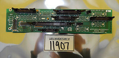 AMAT Applied Materials 0100-09145 RS232 Video Interconnect Board PCB P5000 Used