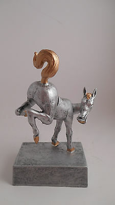 Fantasy Football Horses Ass Bobblehead Trophy Last Place Award -Free Engraving