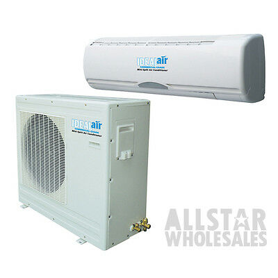 Ideal Air Mini Split Air Conditioner Cool Heat Pump 36000 BTU 15 Seer DIY 3 Ton